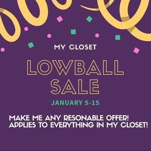 Other - Applies to all items in my closet!! Make an offer!